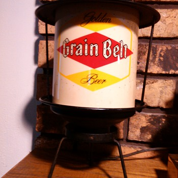 1955 Grain Belt Motion-Lamp - Breweriana