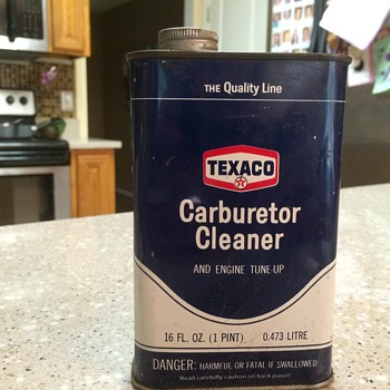 Texaco Carburetor Cleaner and Engine Tune Up - Petroliana