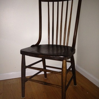 Antique Oak Side chairs