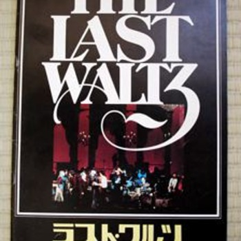 "The Band ""The Last Waltz"" Japanese cinema program - Music"