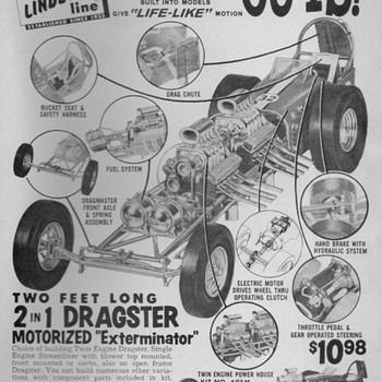 1964/65 Lindberg Models Advertisement - Advertising