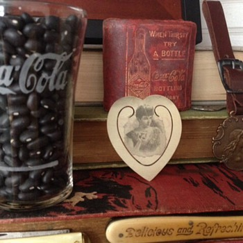 1896 Celluloid Coca Cola Bookmark