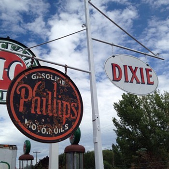 Old 1920s Phillips sign