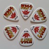 kiss plectrums used by paul stanly in concerts (europe tour)