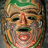 Old Mexican Pottery Mask