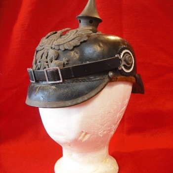 Prussian Model 1915 Enlisted Issue Pickelhaube - Military and Wartime