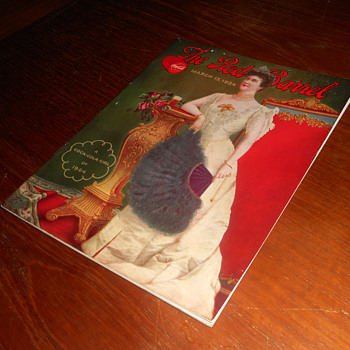 1934 Coca-Cola Red Barrel Magazine