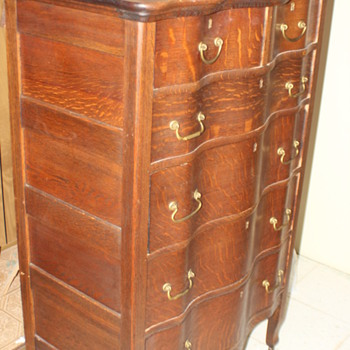 serpintine dresser - Furniture