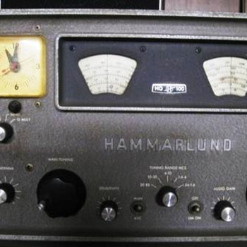 Here's the clock radio I used while in college.