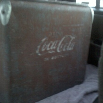 Coca Cola / Coke cooler.. Interested in info! not the best pic (sorry) but i have #'s