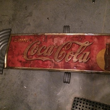 Coca Cola Sign and aluminum pieces??