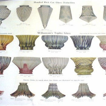 Williamson's Teplitz Glass Catalogue