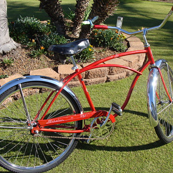 Kevin's  Unrestored 1967 Schwinn Heavy Duti - Outdoor Sports