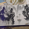 Antique Chinese Or Japanese  Watercolor Signed