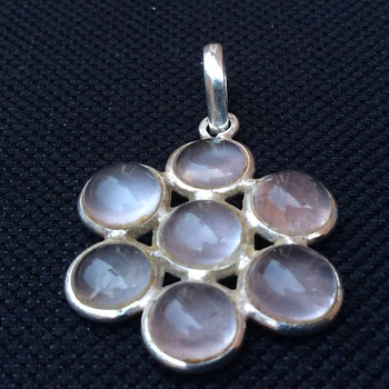 Arts and crafts Moonstone pendant - Fine Jewelry