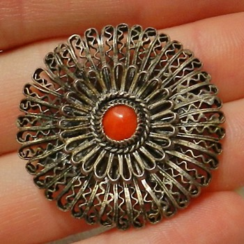 Circa 1890&#039;s Holland Peasant Brooch - Thanks Agram!