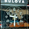 Bulova Advertising Clock - Mid Century Modern