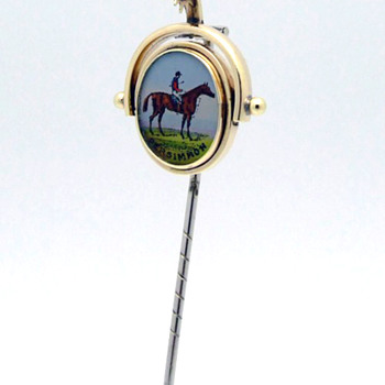 Double-sided stickpin - Fine Jewelry