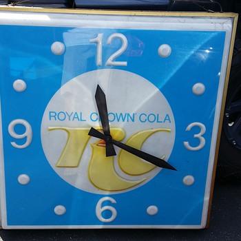RC Royal Crown Cola Clock - Clocks