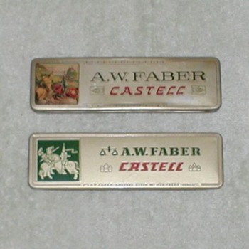 A.W. FABER Castell Pencil boxes (tins)