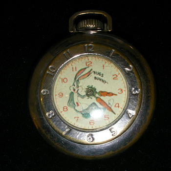 Bugs Bunny Pocket Watch