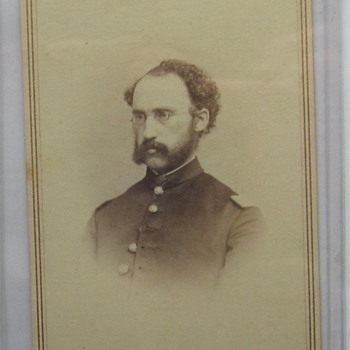 Capt Frank Sabine, 11th Maine Vols. - Photographs