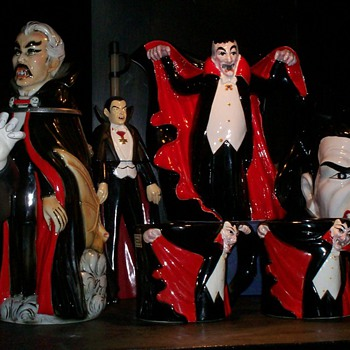 Bat & Dracula collection - Art Pottery