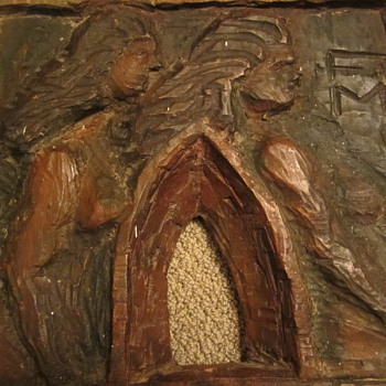 Old wall art carving - Folk Art