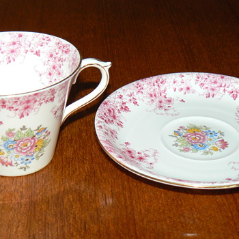 Recently acquired Shelley Teacup and Saucer - China and Dinnerware