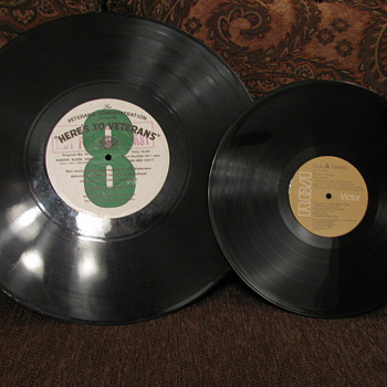 Oversize 33 1/3  Record Album from the V.A.