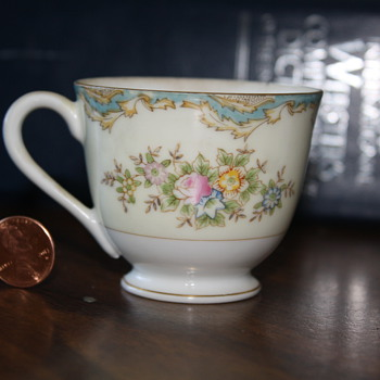 Vintage Teacup with markings