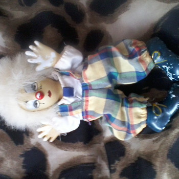 An old clown doll