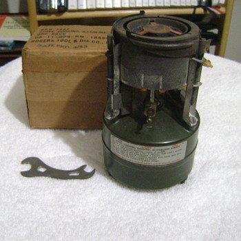 Two Yard Sale Stoves - Military and Wartime