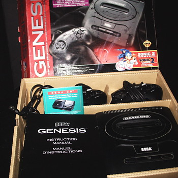 """Vintage Sega Genesis""""1990"""" - Games"""