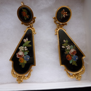 Victorian earrings - Fine Jewelry
