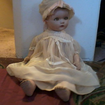 Ideal Doll, late 30's , 40's, My Mom's Dolly