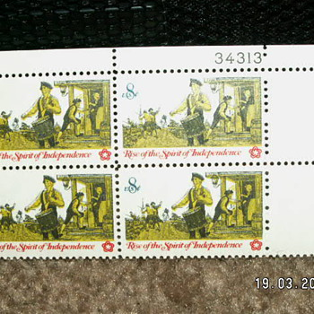1973 Rise Of The Spirit Of Independence 8¢ ~ #1479 - Stamps
