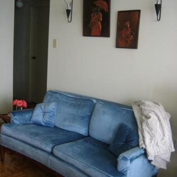 A beautiful classic sofa