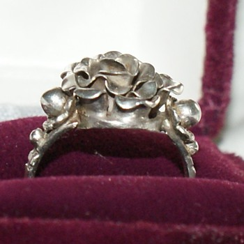Vintage (or antique?) European Silver Ring