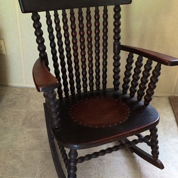 My favorite antique rocker chair