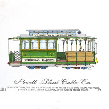 Curro Cablecar Prints