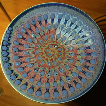 Large Charger with a beautiful Glaze