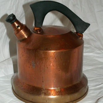 1920's West Bend SOLID COPPER Kettle - Kitchen