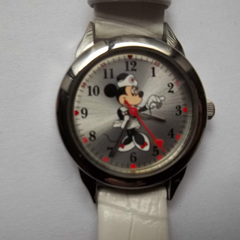 Seiko SII Minnie Mouse Nurse Watch