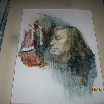 Brian Bedford King Richard III by Susan benson 1980.  - Movies