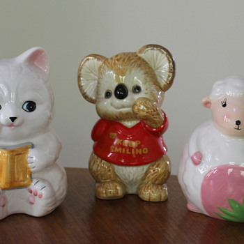 Money boxes from the 60s