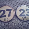 Whitehead And Hoag Number Badge