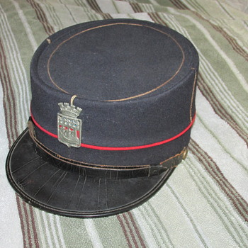 Pre WWII French Military Cap