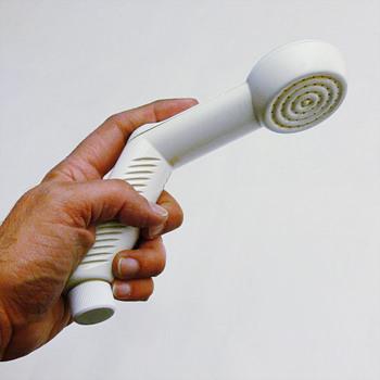 TELÉFONO Shower head. André Ricard, ca. 1990