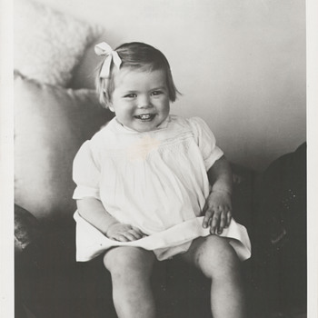 Grace Kelly's Baby Photo (1954) - Type 2 or Type 4